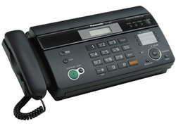 Факс Panasonic KX-FT988UA-B Black (термобумага)